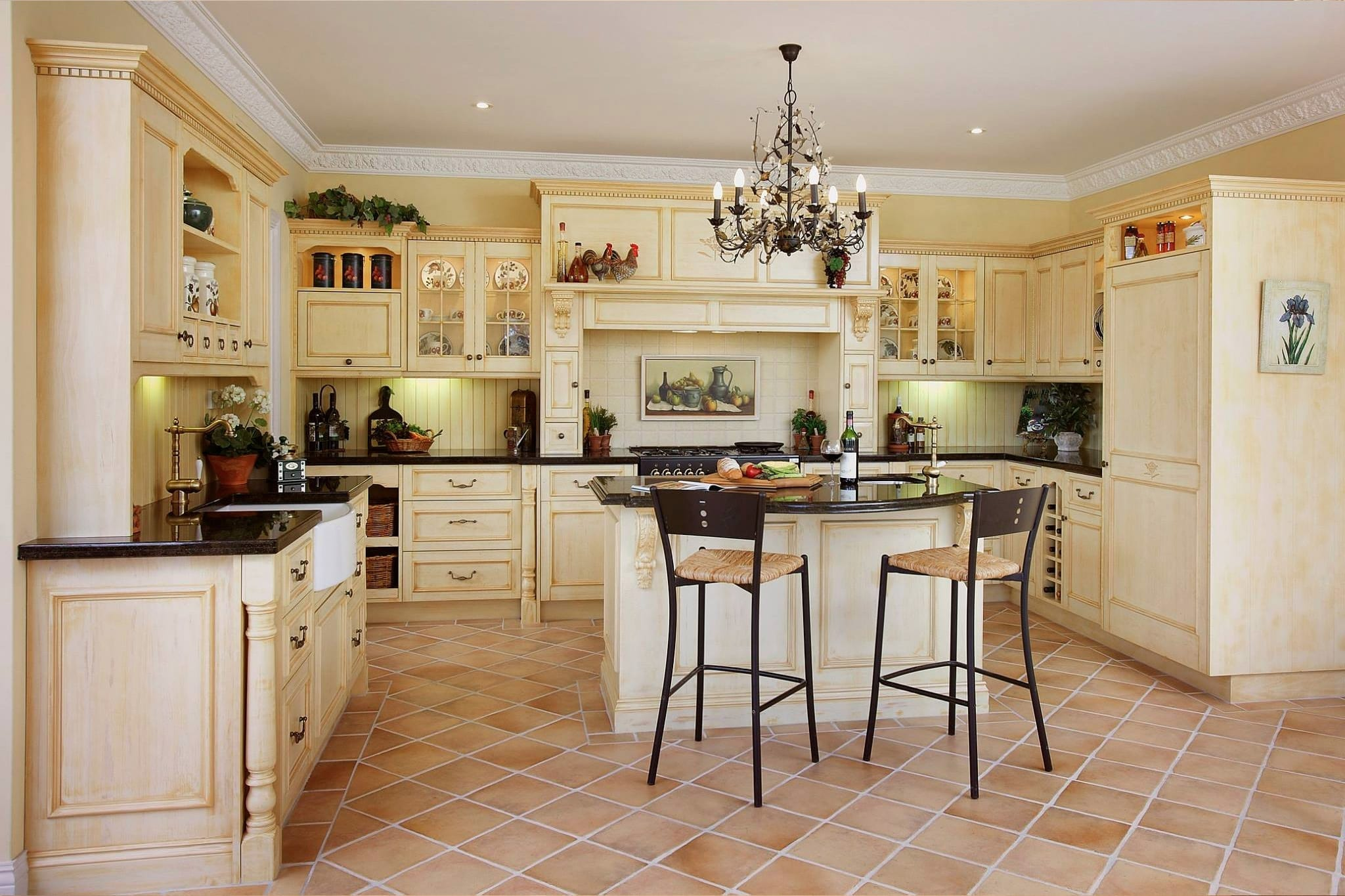 French Kitchens Design In France
