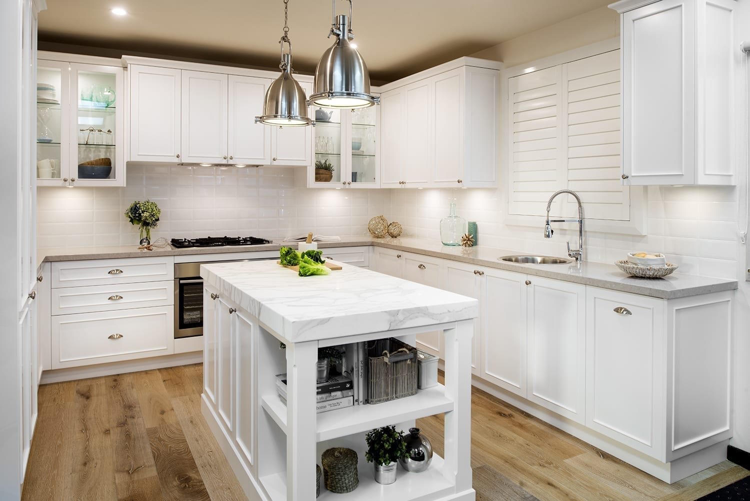Hamptons Kitchen | Casual Elegance | Farmers Doors